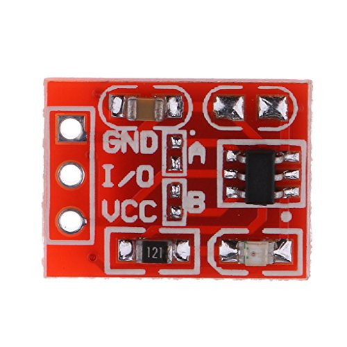 Harilla Módulo de Botón Táctil Capacitivo Interruptor de Bricolaje con Sensor de Capacitancia
