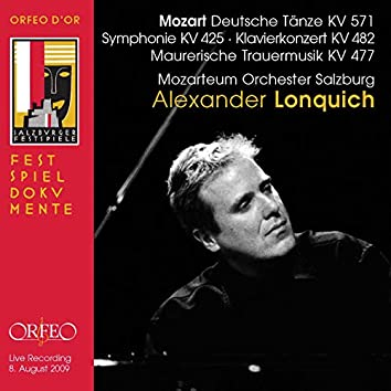 Mozart: 6 German Dances, Symphony No. 36 in C Major & Piano Concerto No. 22 in E-Flat Major (Live)