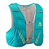 AONIJIE 5L Hombre Mujer Ligero Mochila de hidratación Superior Chaleco para Trail Running Ciclismo Marathoner Profesional (Verde Menta- S/M)