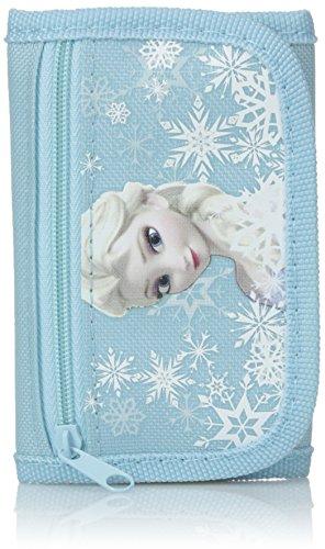 Disney Frozen Elsa Light Blue Trifold Wallet