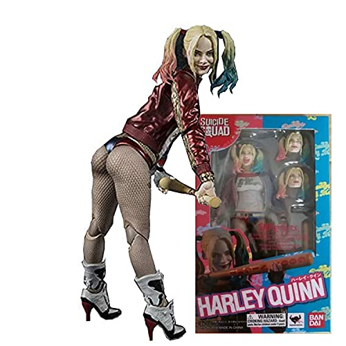 Actions Harley Quinn Clown Girl Figura -15 Cm