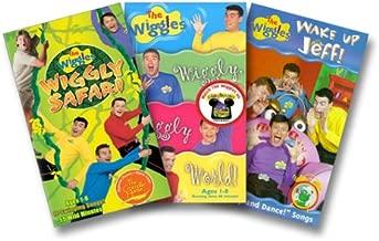 The Wiggles 3 Pak (Wake Up Jeff/Wiggly Safari/Wiggly Wiggly)