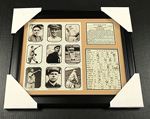 11x14 Framed & Matted 1908 Chicago Cubs World Series Champions 8X10 PHOTO