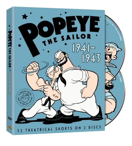 Popeye the Sailor: 1941-1943: The Complete Third Volume