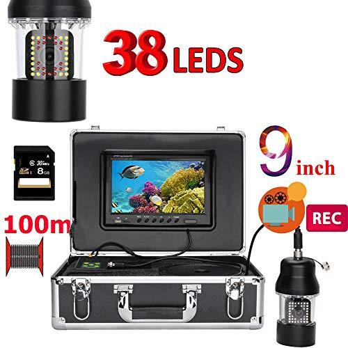 STHfficial 9 inch 100 m onderwatervissen videocamera 38 LED's 360 graden camera