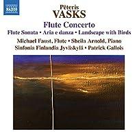 Vasks: Flute Concerto by Michael Faust (2013-10-29)