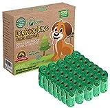 Bolsas para Excrementos Residuos Caca Perros Gatos Mascotas Extrafuerte Biodegradables De Almidón de Maíz (525 BOLSAS)
