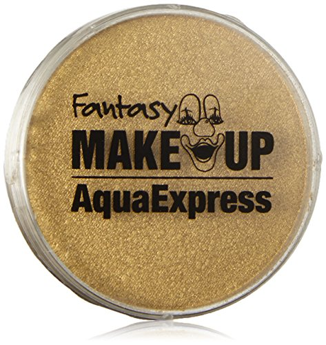 KREUL 37012 Fantasy Aqua Make Up Express, gold, 15 g