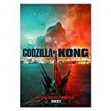 S-ANT Godzilla vs Kong Movie Official Poster (11x17)