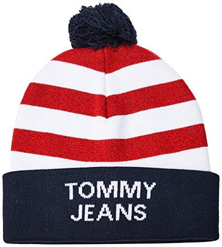 Tommy Hilfiger Tjw Americana Beanie Gorra de béisbol , Azul (Blue 0g1)...