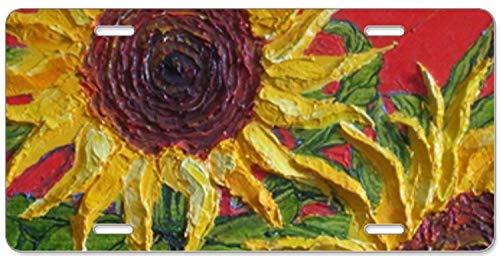Fhdang Decor Supernatural Text Red Smoke,Aluminium Kennzeichen, Frontkennzeichen, Vanity Tag 4 Löcher Auto Tag Zubehör 15,2 x 30,5 cm
