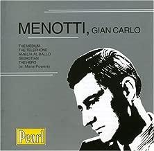 Menotti: The Medium, The Telephone, Amelia al Ballo, etc. by G.C. Menotti (2000-09-26)