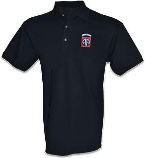 Army 82nd Airborne Polo Golf Shirt