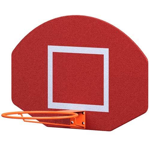 Sport Services Tablero de Básquetbol 1.12m x 0.72m x 0.90cm Aro de 48cm (Balón Profesional)