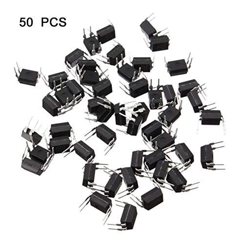 Multifunktionale optische Isolatoren 50er Pc817 Optokoppler Sharp Optokoppler C File Optocoupler Dip-4 - Schwarz