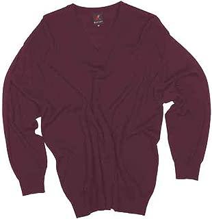 MAGLIA UOMO lana merino 3XL 4XL 5XL 6XL Giacca cardigan grigio chiaro calibrata