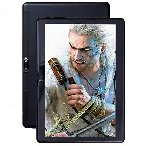tablet PC Android PC Pantalla IPS HD Soporte Bluetooth WiFi Tarjeta SIM Dual Cámara HD Batería Grande Alto Rendimiento PC ultradelgada