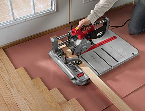 SKIL 3601-02 Flooring Saw with 36T Contractor Blade, Red and black