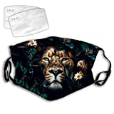 Plant Lion Anti-Dust Anti-Pollution Windproof Cover