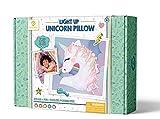 GoldieBlox Light-Up Unicorn Pillow, for Kids 8+, Soft & Cuddly, Educational DIY STEM Activity