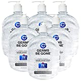 Hand Sanitizer Enriched with Aloe and Vitamin E, 75% Ethyl Alcohol - 64 Oz Pump Bottle - Case Of 6