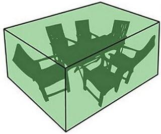 dDanke Rectangular Patio Table Chair Set Cover - Sun Block Waterproof Snowproof Windproof Dustproof Furniture Cover Green...
