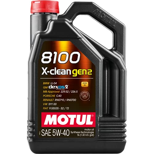 Motorenöl 8100 X-CLEAN GEN2 SAE 5W-40 5L