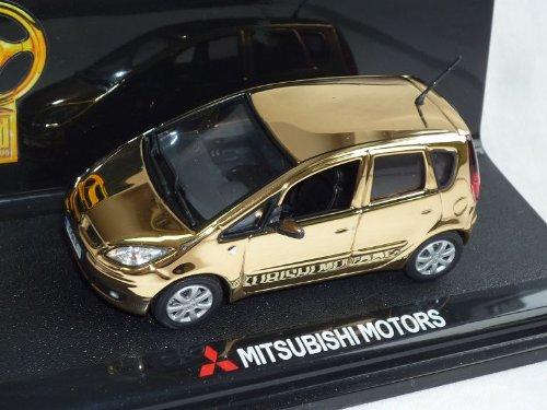 Vitesse Mitsubishi Colt 5 TÜrer Gold Bild Goldenes Lenkrad 2004-2008 Z30 1/43 Modell Auto Modellauto