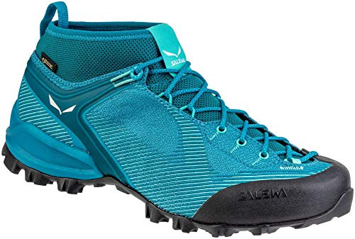 Salewa Damskie buty trekkingowe Ws Alpenviolet Gore-tex, niebieski - Malta Lagoon Green - 36 EU