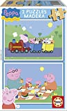 Puzzles Educa - Peppa Pig, 2 Puzzles x 16 Piezas (15829)