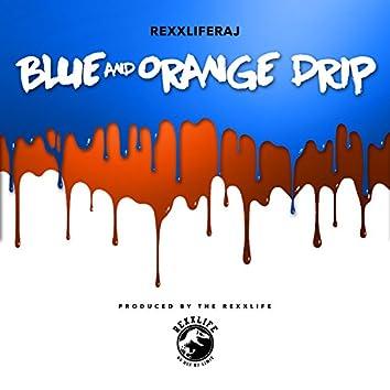 Blue and Orange Drip - Single