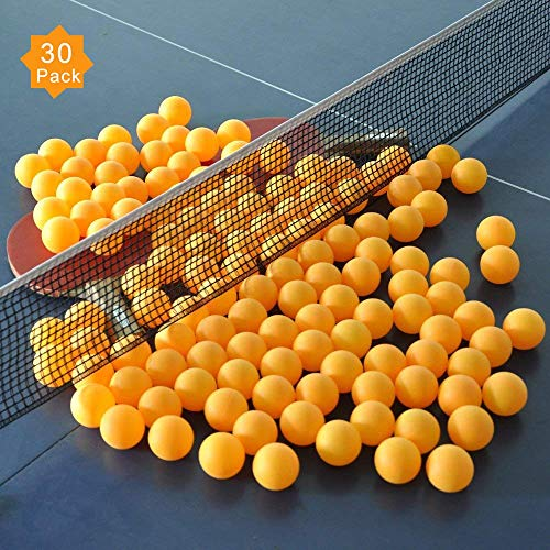 ZHENAN 30-Pack 3-Star 40+ New Material Table Tennis Balls,More Durable,Advanced Training Ping...