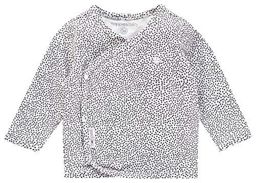 Noppies Noppies Baby-Unisex U Tee ls Hannah AOP T-Shirt, Weiß (White C001), 50