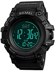 cheap S Shock Military Sports Watch Compass Pedometer Calorie Men's Watch Digital Waterproof…
