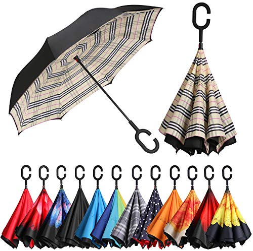 BAGAIL Double Layer Inverted Umbrellas...