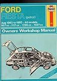 Fiesta owner's workshop manual