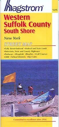 Suffolk County NY (Western) South Shore Pocket Map