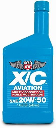 popular Phillips 66 X/C Aviation Oil wholesale 20w-50 Engine online sale Oil - 1 Quart Bottle online