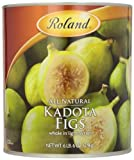 Roland Foods Kadota Figs in Light Syrup, Specialty Imported Food, 6.83-Pound Can