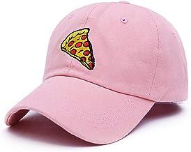 Gorra de Beisbol Baseball Cap Pizza Bordado Gorra de béisbol Gorra de Camionero para Mujeres Hombres Unisex tamaño Ajustable papá Gorra Sombreros
