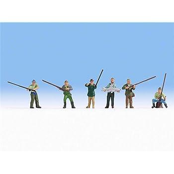 Preiser 10077 Angler und Sportfischer Figurenpackung HO NEU