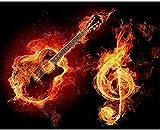 GHYU 6000 Piezas de Rompecabezas de Madera-Instrumento Musical-Rompecabezas de Madera para Adultos Rompecabezas Divertido y difícil para Adultos Rompecabezas de decoración Familiar