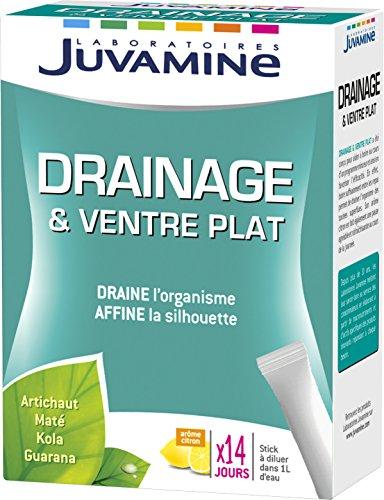 Juvamine Drainage & Ventre Plat 14 Sticks Liquides