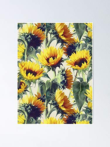 AZSTEEL Sunflowers Forever Poster No Frame, Best Gift for Family and Your Friends 11.7x16.5 Inch