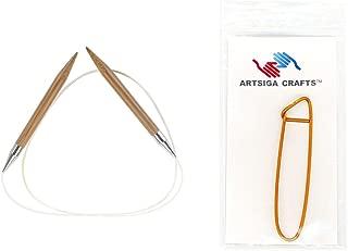 chiaogoo bamboo circular knitting needles