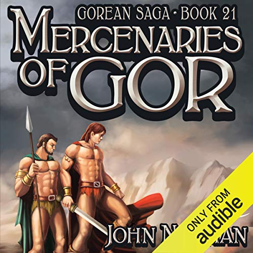 Mercenaries of Gor audiobook cover art