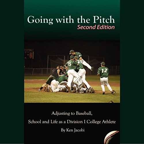 Going with the Pitch audiobook cover art