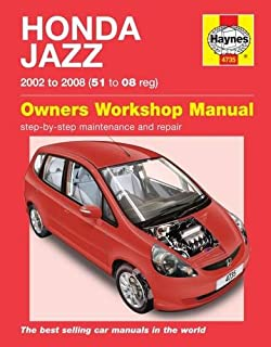 Honda Jazz (02 - 08) Haynes Repair Manual