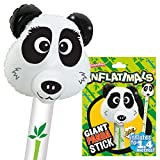 Inflatimals Animales inflables - Oso Panda de Deluxebase. Juguete Inflable Gigante con...