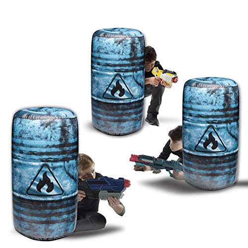 "BUNKR Tire Stack Inflatable Battle Zone Set, 34"" x 19"" x 19"""